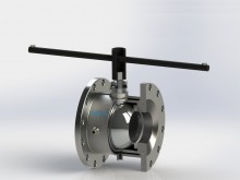 Full Port, Jacketed, Flanged End, Class 150, Size 25/50 to 150/250
