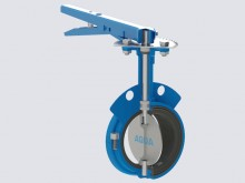 Wafer Type, Resilient Seated, Thin Disk, Butterfly Valve, Class PN10/PN16, Size 50-300
